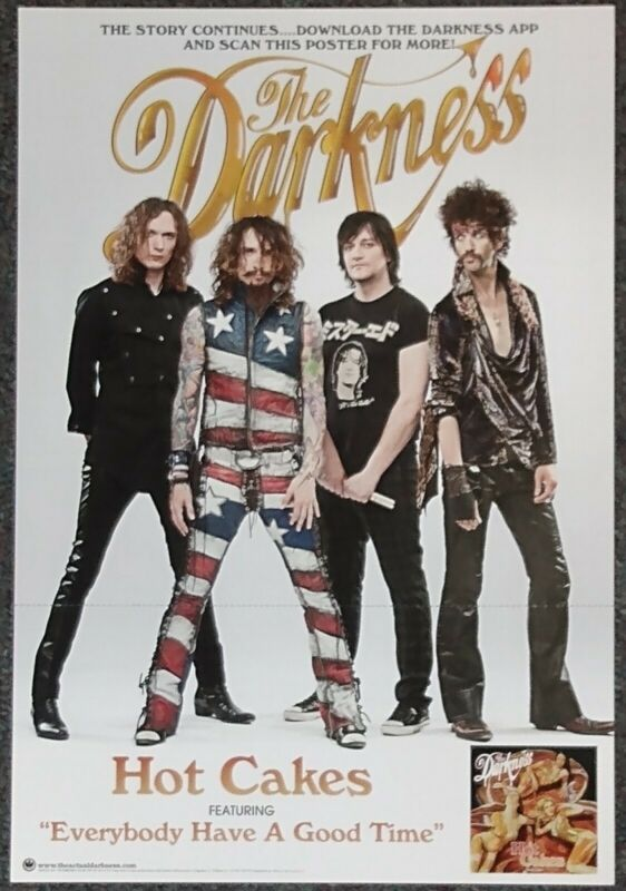 The Darkness Hot Cakes 2012 Double-sided PROMO POSTER