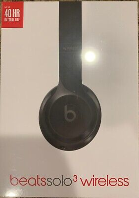 Beats By Dr. Dre Solo 3 Wireless Headphones Brand New Black Color