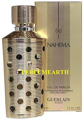 Nahema By Guerlain 1.6/1.7 Edp Refillable Spray For Women New...