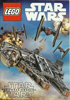 7 STAR WARS Force Awakens LEGO Mini Magazines BIRTHDAY GIFT BAG IDEA Fan Boy - Star Wars Birthday Ideas