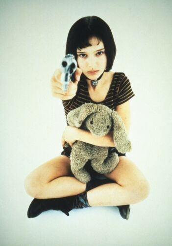 LEON; THE PROFESSIONAL Movie PHOTO Print POSTER Textless Art Natalie Portman 001