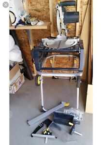 Mastercraft table saw flip chop saw