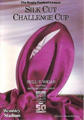Hull v Wigan - Challenge Cup Final - 1985