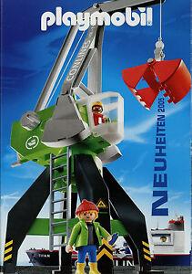 Prospekt Playmobil 2005 Neuheiten Spielzeugkatalog Katalog Spielzeuge catalog