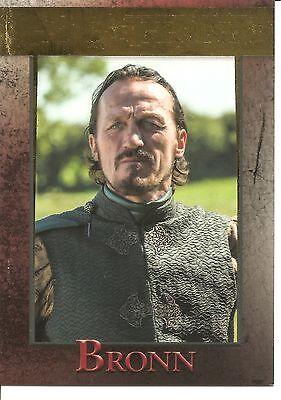 Game of Thrones Season 5 Bronn Gold Parallel Trading Card #37 (#20/150)