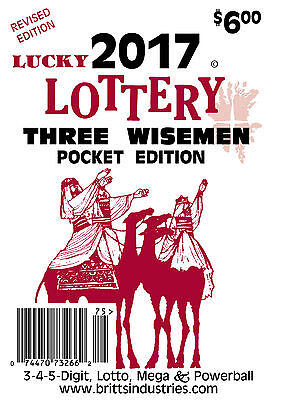 2017 Lucky Lottery Three Wisemen Pocket Edition   Lottery Book   Lottery