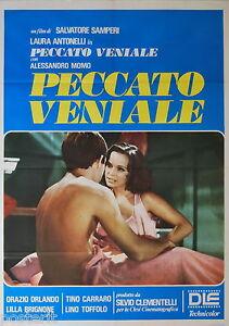 manifesto-2F-originale-PECCATO-VENIALE-Laura-Antonelli-Alessandro-Momo-2a-ediz