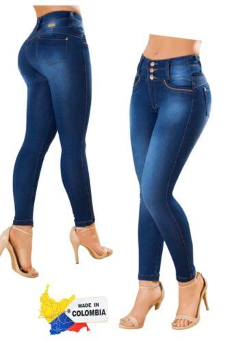 Push Up Jeans Pantalones Colombianos Levanta Cola Denim Colombian Pants EnFajate