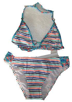 O'Neill  toller Mädchen Triangel Bikini gestreift Gr. 152  NEU mit Etikett
