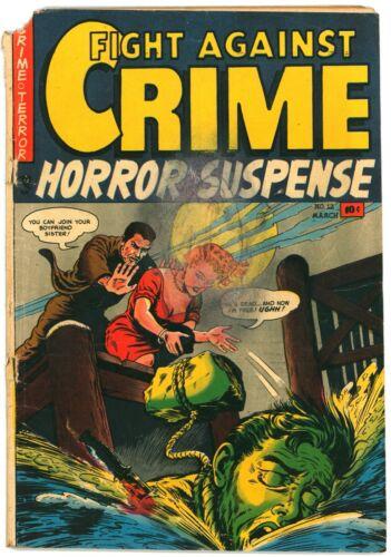Fight Against Crime #12 (Story Comics, 3/1953) Morphine Drug Story