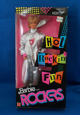 Barbie and the Rockers KEN 1986 Hot Rockin' Fun NRFB Sealed