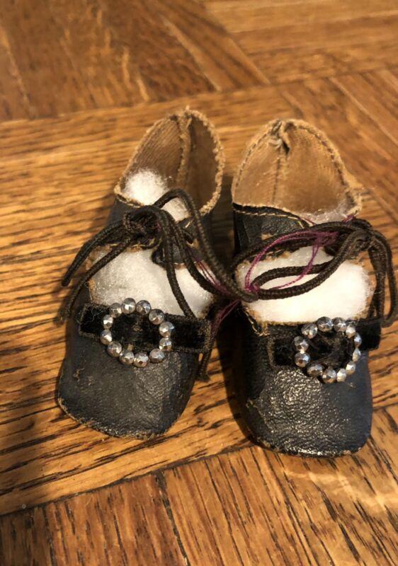 Excellent Repro Doll shoes? Or Antique?
