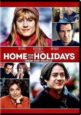 NEW  DVD - HOME FOR THE HOLIDAYS - CHRISTMAS - Holly Hunter, Robert Downey,