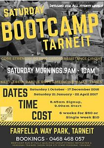 Saturday Bootcamp 9am, Tarneit Tarneit Wyndham Area Preview