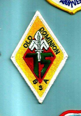 Vintage Old Dominion Area Council  Diamond Mint 75Th Annv Boy Scout Va Virginia