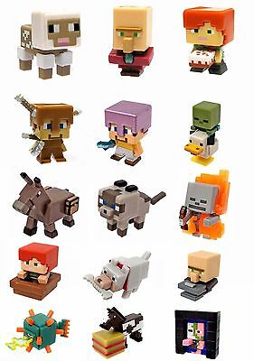 Minecraft Mini Figure RARE Obsidian Series 4, Ice Series 5, End Stone Series 6