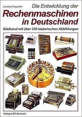 Bildband Leonhard Dingwerth: Geschichte der deutschen Rechenmaschinen, 220 Abb.