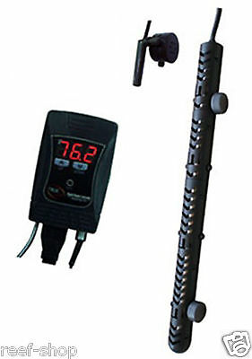 JBJ True Temp 1000 Watt Titanium Aquarium Heater and Controller Free USA Ship