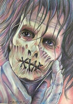 Billy Butcherson Original Drawing. Fan-ART A4 . Hocus Pocus - Billy Hocus Pocus