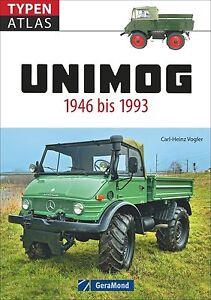 Das Unimog Typenbuch Modelle Typen-Atlas Geschichte Baureihe 416 Buch Bildband