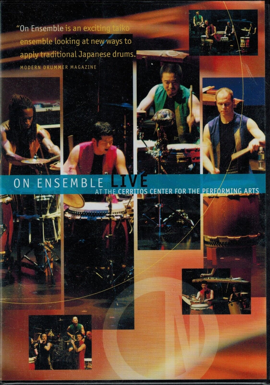 on ensemble dvd live at the cerritos center for performing a