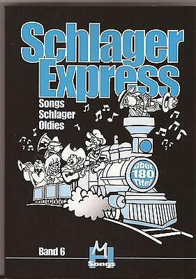 Keyboard Gitarre Noten - SCHLAGEREXPRESS - Songs Schlager Oldies -