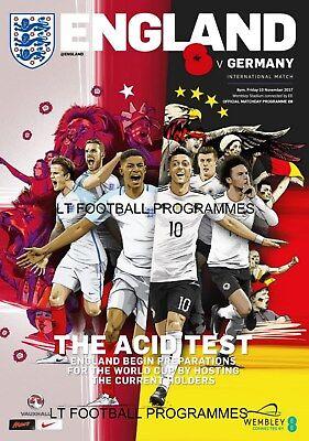 * 2017 - ENGLAND v GERMANY (INTERNATIONAL FRIENDLY AT WEMBLEY) *