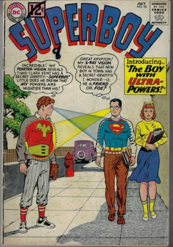 SUPERBOY # 98 FIRST APPEARANCE ULTRABOY 1962