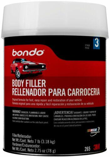 Bondo Body Filler, 00265, 1 Gallon