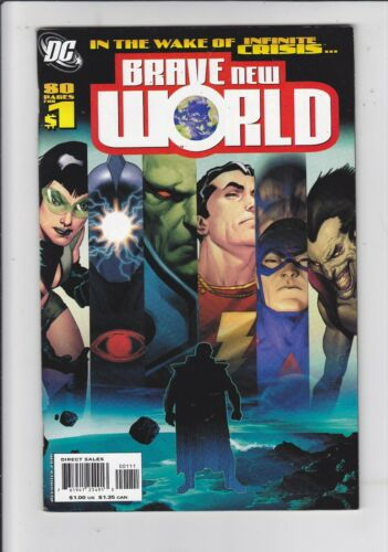 DCU: Brave New World  #1   NM- or better, First Appearance of Ryan Choi Atom