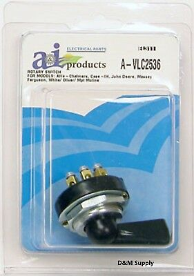 To Fit John Deere Ih Case Massey Tractor Rotary Light Switch 4 Position