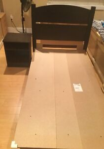2 piece twin bed