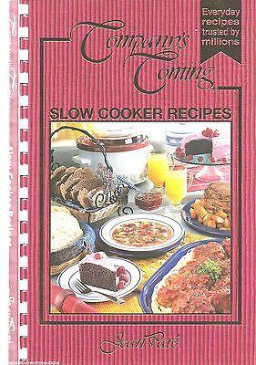 SLOW COOKER RECIPES Jean Pare COMPANYS COMING Cookbook CROCK