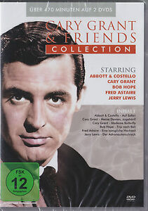 Cary Grant and Friends - Classic Collection - 6 Filme auf 2 DVDs - *NEU*