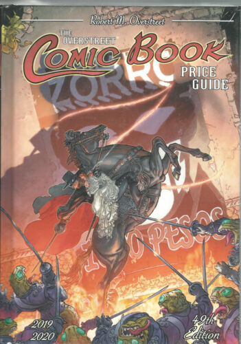 Overstreet Comic Book Price Guide 49th Edition Zorro HC 2019 - /2020