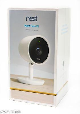 Nest Cam IQ Indoor Security Camera 1 Pack NC3100US - White