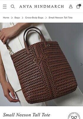 Anya Hindmarch Neeson Tote in Cedar - New with tags