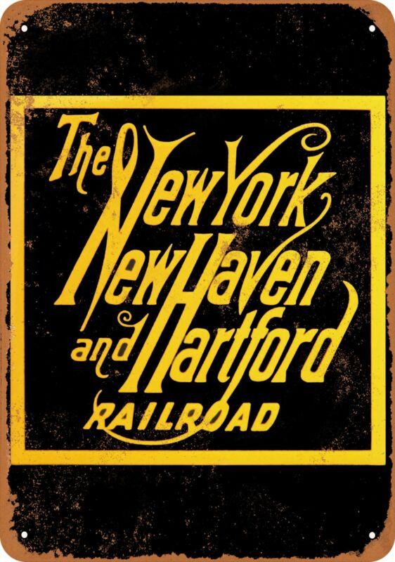 Metal Sign - New Haven Railroad -- Vintage Look
