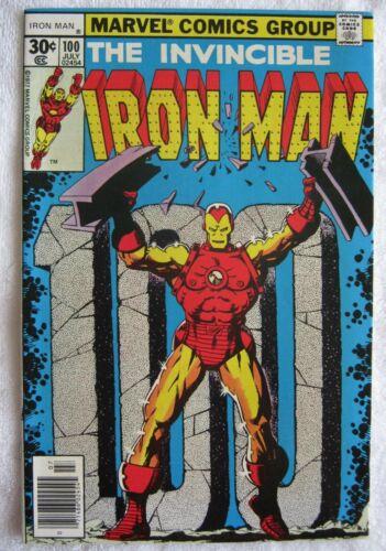 Iron Man #100, VF/NM, Marvel, 1977