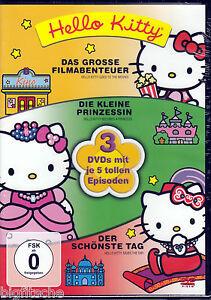 3-DVD-BOX-HELLO-KITTY-FANTASTISCHE-GESCHICHTEN-NEU-OVP