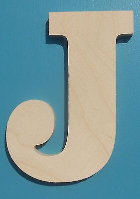"18"" Wooden Letter BLOCK font Unfinished wood letters Room Decor Childrens Room"