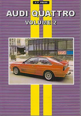 AUDI 80 B3 SERIES COUPE QUATTRO (1980 - 1985) PERIOD ROAD TESTS BOOK