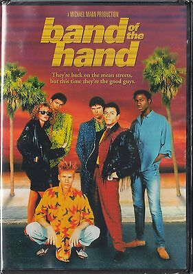 Band of the Hand (DVD, 2012) Paul Michael Glaser, Stephen Lang    BRAND NEW