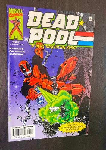 DEADPOOL #42 (Marvel 1999) -- NM- Or Better