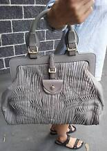 Genuine Hugo Boss Leather Handbag. New Hornsby Hornsby Area Preview