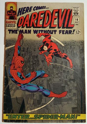 DAREDEVIL 16 - 1st John Romita Spider-Man art, Stan Lee story, Solid Key issue!