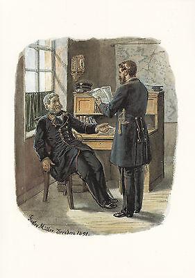 Ansichtskarte - Reichs-Postverwaltung, Geheimer Postrat, Oberpostdirektor 1871