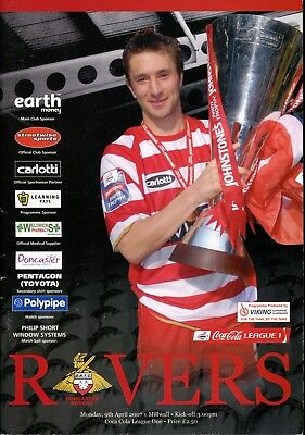 B39 Doncaster Rovers v Millwall 09/04/07 League 1
