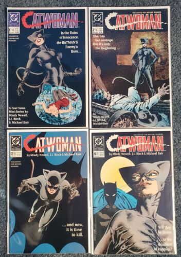 Catwoman # 1 to # 4 - Mini-series -  Lot of 4 - VF/NM