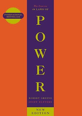 The Concise 48 Laws Of Power (The Robert Gre by Robert Greene New Paperback Book